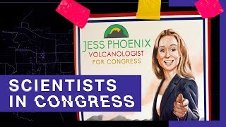Inside a volcano scientist's campaign for Congress