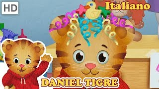 Daniel Tiger in Italiano - Vestiti e Capelli Divertenti e Unici!