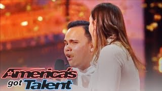 GOLDEN BUZZER Kodi Lee: Great Inspiration Brings Tear on America Got Talent S19 2019