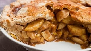 Old Fashioned Apple Pie فطيرة التفاح على الطريقة الامريكية