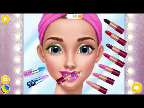 The Girl Care - Color Makeover Kids Games Play Makeup Dress Up Dating - Hannah's High School Crush