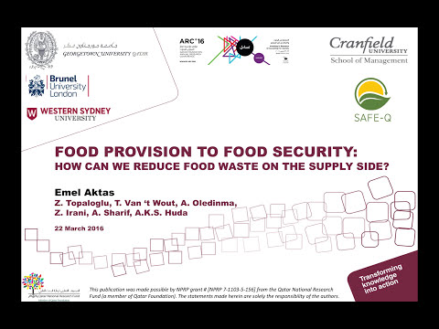 Food Provision to Food Security Flash Presentation ARC 16