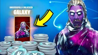 NEW GALAXY SKIN IS SUPER RARE! THE CUBE IS MOVING TO SALTY! (FORTNITE BATTLE ROYALE)