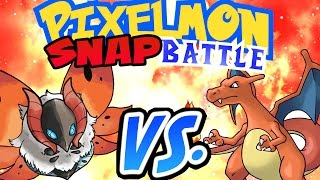 Minecraft Pixelmon Snap Battle! - Charizard Gets Buff!