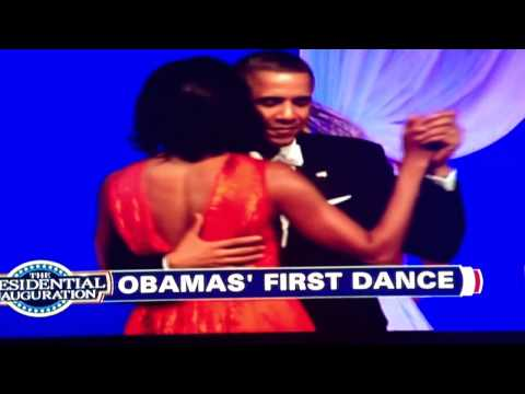 President Obama and First Lady Michelle 2nd Inaugural Ball dance feat. Jennifer Hudson