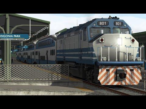 Train Simulator Miami-WPB Scenario Pack 1: F40PHL-2 - 5: Miami Bound, Part 1