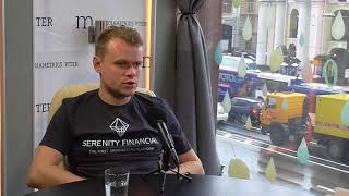 The interview with Serenity Financial co-founder Anton Vasin