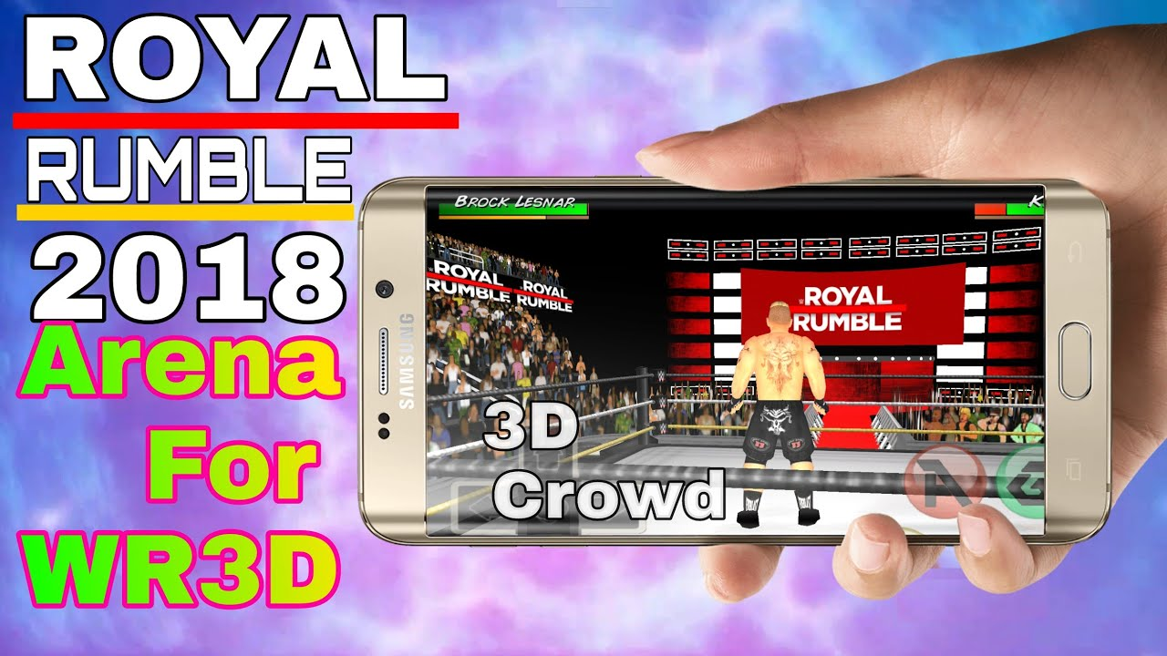 How To Download Royal Rumble 2018 Arena For WWE 2K18 Mod