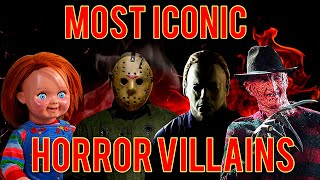 Top 5 Most Iconic Horror Movie Villains