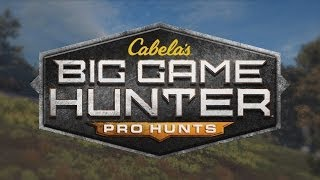Cabela's Big Game Hunter 2014 Gameplay - Hunting different animals PC 1080p