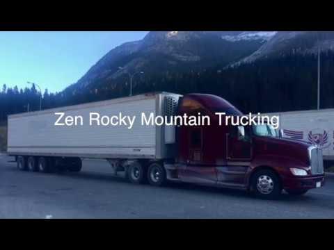 Zen Rocky Mountain Trucking: Golden Hill