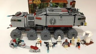 Lego Star Wars 7261 Clone Turbo Tank (раритетный обзор)