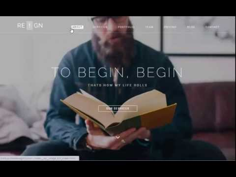 Reign Pro - Best Premium Agency Template in 2016