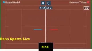 [ LIVE NOW ] NADAL vs THIEM Final Roland Garros 2018 - Live Score