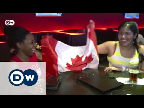 Soaking up Canada's World Cup atmosphere | DW News