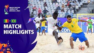 Senegal v Brazil FIFA Beach Soccer World Cup 2021 Match Highlights