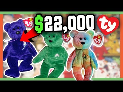 Rare Beanie Babies Worth Money