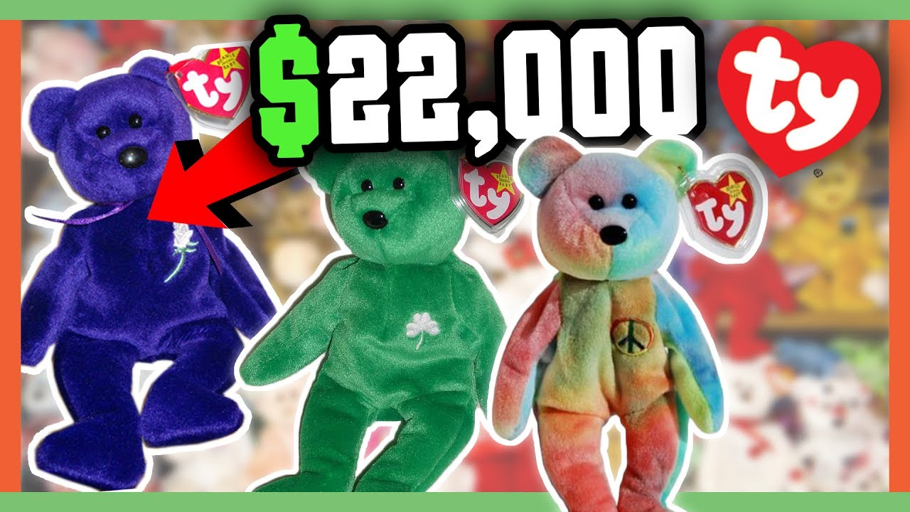 rare beanie babies worth money 90 39 s childhood toys worth a fortune youtube. Black Bedroom Furniture Sets. Home Design Ideas