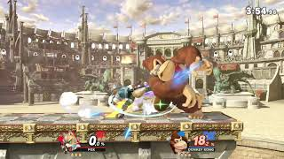 Alguien pidio sopa de macaco? Fox vs donkey kong (super smash bros ultimate)