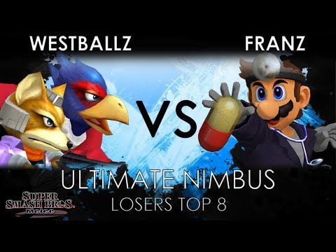 Ultimate Nimbus - G2   Westballz (Fox, Falco) VS Franz (Dr. Mario) - SSBM Losers Quarters