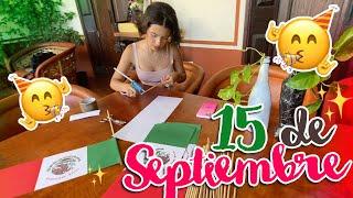 Ángela Aguilar - Mi Vlog #77 Decoraciones para el 15 de Septiembre