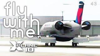 X-Plane 10 MP#3 - (Pilotedge) Back to LA!