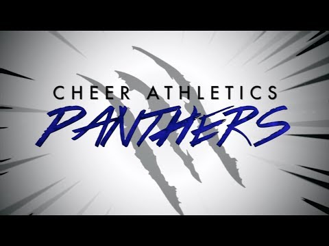 Cheer Athletics Panthers 2017-18