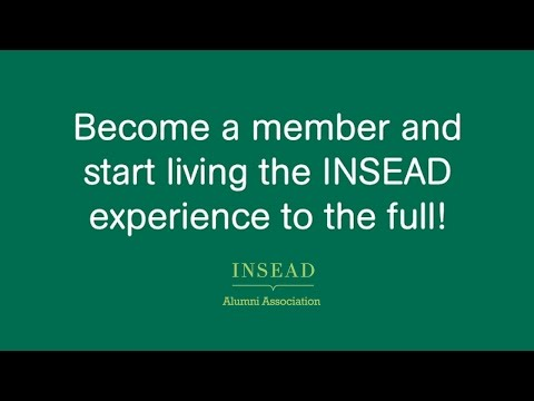 INSEAD Alumni Association Member Benefits