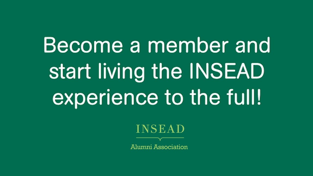 Alumni | INSEAD