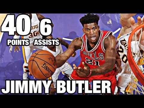Jimmy Butler Drops 40 Points in LA | 11.20.16