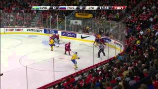 2012 Junior World Championship -  gold medal game Russia vs Sweden