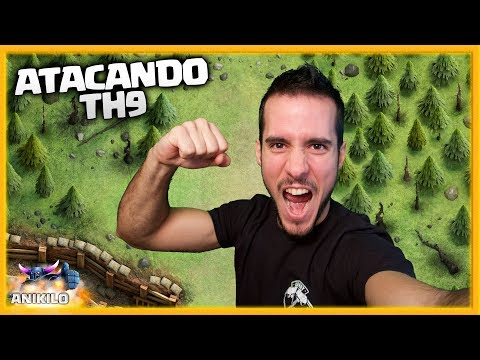 ME HAN RETADO!! ATACANDO TU ALDEA TH 9 - #64 - CLASH OF CLANS