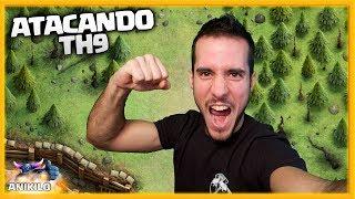 ME HAN RETADO!! ATACANDO TU ALDEA TH 9 - #64 - CLASH OF CLANS