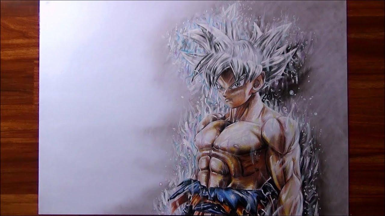 Como Pintar A Goku Ultra Instinto Dominado Con Materiales