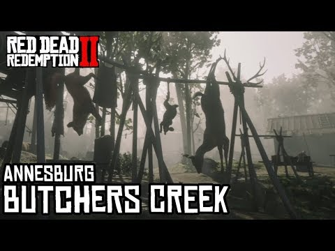 Lugares misteriosos en Red Dead Redemption 2 - Butchers Creek - Jeshua Games thumbnail