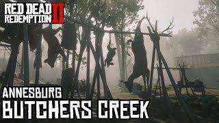 Lugares misteriosos en Red Dead Redemption 2 - Butchers Creek - Jeshua Games