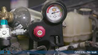 BULLSEYE how to find an engine oil leak