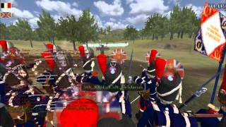 Mount and Musket - 2 MASSIVE lines of 125 players each fight!! Truely EPIC