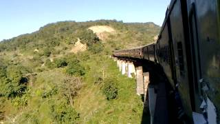 HILL QUEEN EXPRESS crossing magnificient DOYANG (DYANG) BRIDGE, Assam.mp4
