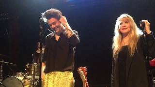 HARRY STYLES SECRET SHOW @ THE TROUBADOUR // LEATHER AND LACE (WITH STEVIE FUCKING NICKS)