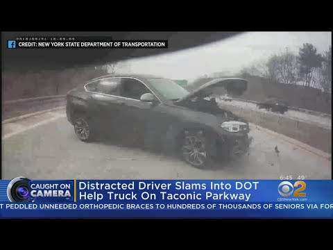 South Florida's First News w Jimmy Cefalo - Video Shows Shocking Result of Distracted Driving