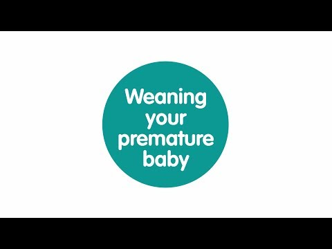 Weaning your premature baby the signs to look for
