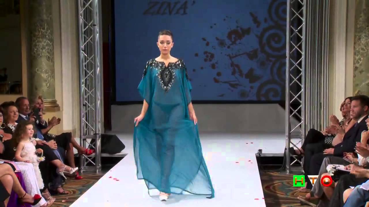 size 40 388c8 7d7bd Caftani - Zina Couture - www.HTO.tv