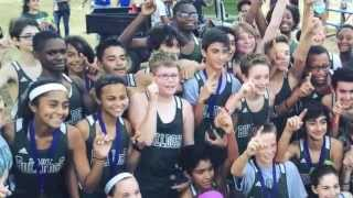 Cross Country Team Comes Back for Boy with Autism