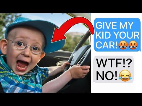 r/EntitledParents | 'MY KID DESERVES YOUR $60,000 CAR!' (Reddit Stories)