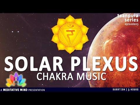 SOLAR PLEXUS CHAKRA Healing Meditation Music | Taanpura Series | M16CS3T3