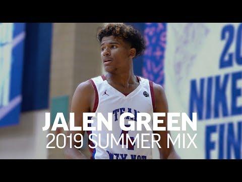 Jalen Green Is A UNICORN! 🦄 Official 2019 Summer Mixtape
