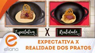 Bertolazzi julga os pratos do Minha Mulher Que Manda | Programa Eliana (04/11/18)