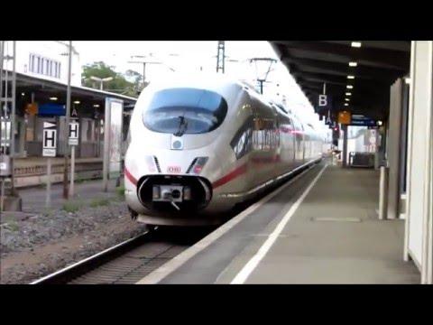 [Deutsche Bahn] Départ d'un ICE 3 (B-403) Tb-325 de la gare d'Offenburg