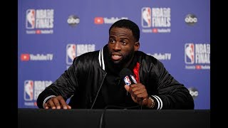 Draymond Green - Full Press Conference   Game 1   Warriors vs Raptors